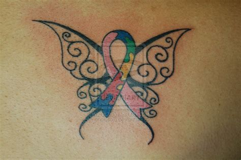 breast cancer butterfly tattoo 33 breast cancer designs images and pictures