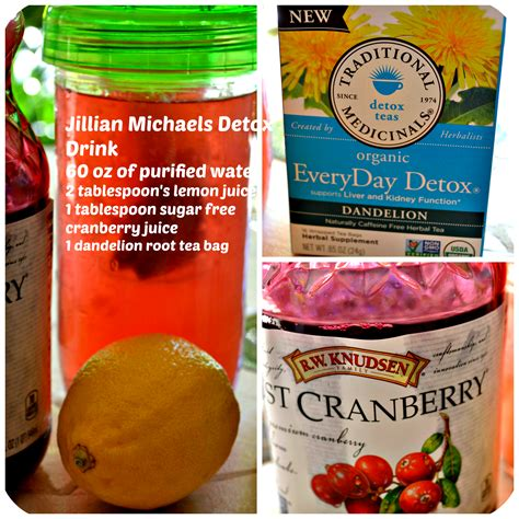 Detox Flush Drink Recipe by Jillian Detox Drink