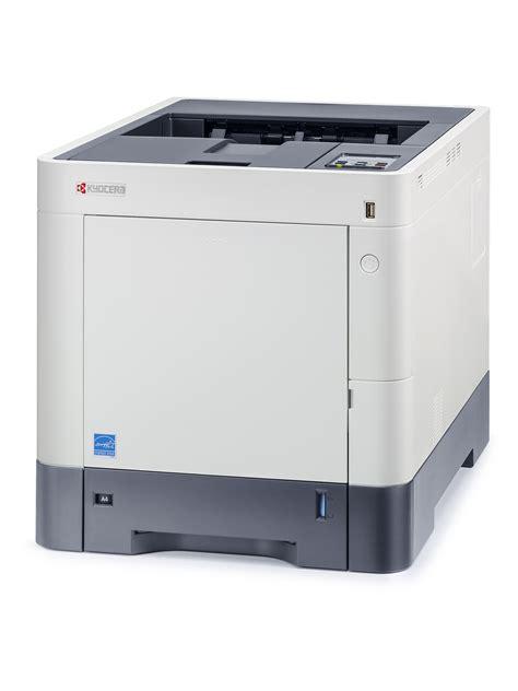 Printer A4 kyocera ecosys p6130cdn a4 colour laser printer