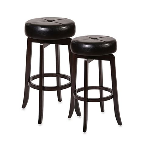 bed bath and beyond stools ampersand rhodes backless swivel bar stool and counter