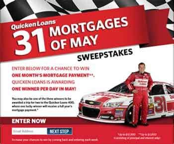 Quicken Loan Sweepstakes - quickenloans com quicken loans 31 mortgages of may sweepstakes