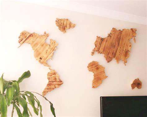 mapamundi decoracion decorar con palets una pared con un mapamundi i love palets