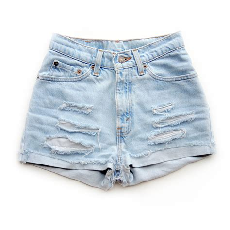 light wash get high waisted shop high waisted shorts and vintage
