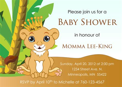 baby king baby shower invitation by designsbyoccasion
