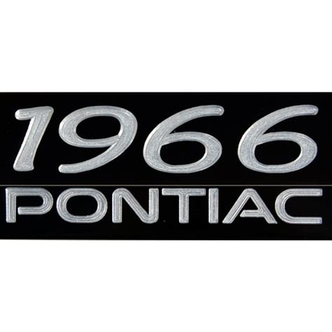 Pontiac License Plate Frame by Classic Years Pontiac Satin Black License Plate Frame