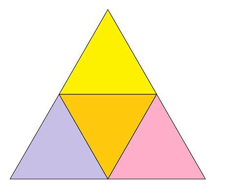two triangle smallest triangle split seek echo