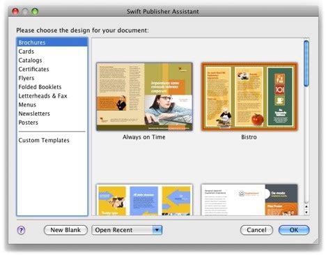 applewoods swift publisher 輕鬆排版