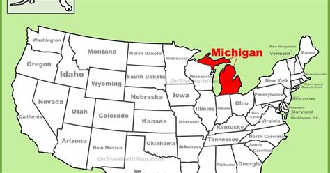 pennsylvania ipl2 stately knowledge facts about the michigan on the us map my blog
