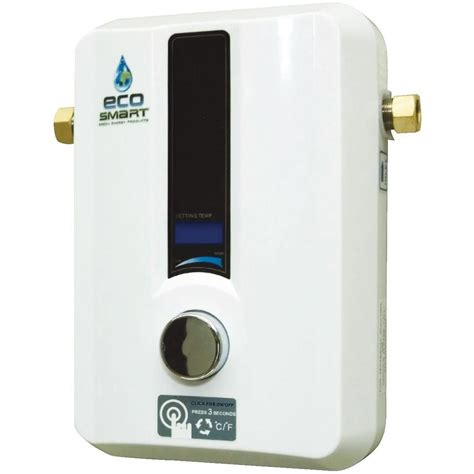 Tankless Water Heater Ecosmart 240v 13 6 Kw Electric Tankless Water Heater Ebay