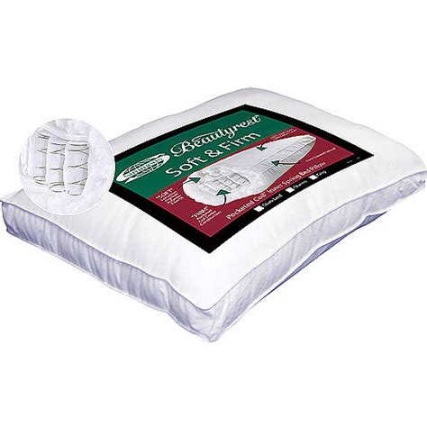 Beautyrest Pocketed Coil Pillow by Beautyrest Pocketed Coil Pillow Walmart