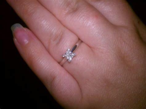 Tiny Diamond Wedding Rings