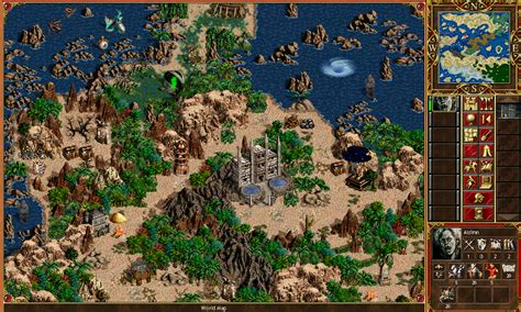 heroes 3 africa map maps for heroes of might and magic 3 www griffintower