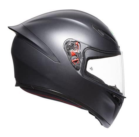 agv  kapali motosiklet kaski mat siyah