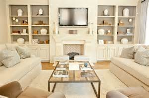 Living Room Bookshelves And Cabinets Built In Cabinets Transitional Living Room Munger