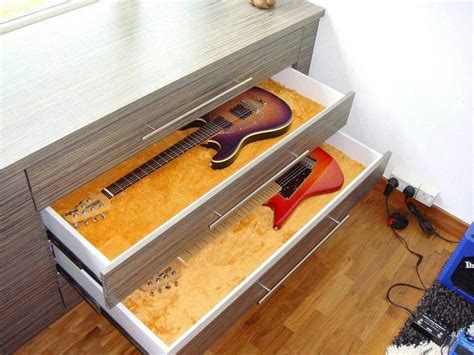 Custom Guitar Cabinets by Guitar Storage Room Ideas Guitar
