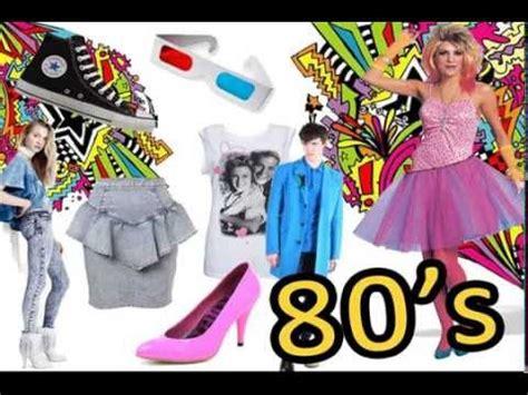 fotos de los 80 moda tendencia de moda mundial oto 241 o invierno 2010 80 s youtube