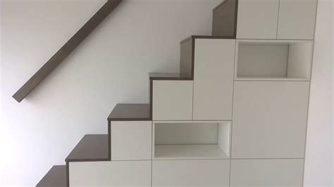 schrank unter treppe bauen m 246 beltischlerei sekulum schrank mit treppe 2016 05