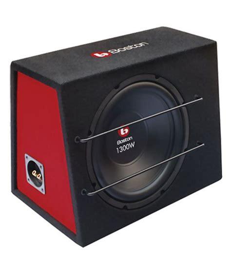Speaker Boston Mobil 410401 Set boston 1300 watt rf 212b 12 inches subwoofer buy snapdeal