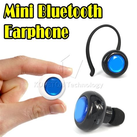 Mini Ear Headset Dual Earphone Bluetooth Call Mic Hook mini bluetooth stereo headset wireless earphone mic microphone free ear hook for iphone 5