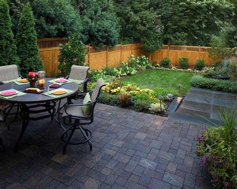 Landscape Landscape Ideas For Small Backyard Small Back Yard Landscaping With Garden