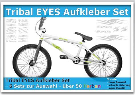 Fahrrad Aufkleber Tribal by Tribal Tattoo Aufkleber Set Eyes F 252 R Bike Fahrrad Ebay
