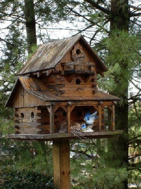 Bird Houses On Pinterest Bird House Plans Birdhouses Cabin Birdhouse Plans
