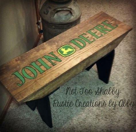 john deere bench john deere farmhouse bench and farmhouse on pinterest
