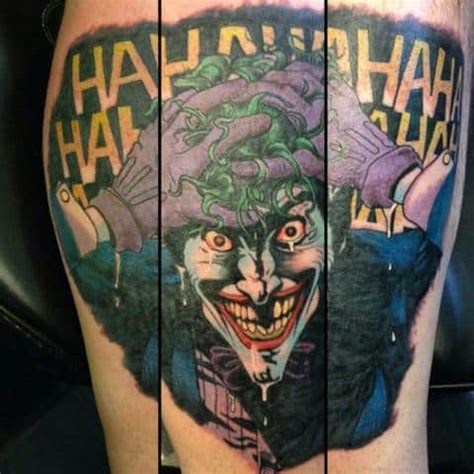 tattooed man dc dc comic tattoos for ideas and inspiration for guys