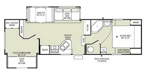 wilderness rv floor plans 2009 wilderness fifth wheel series m 295bhds specs and