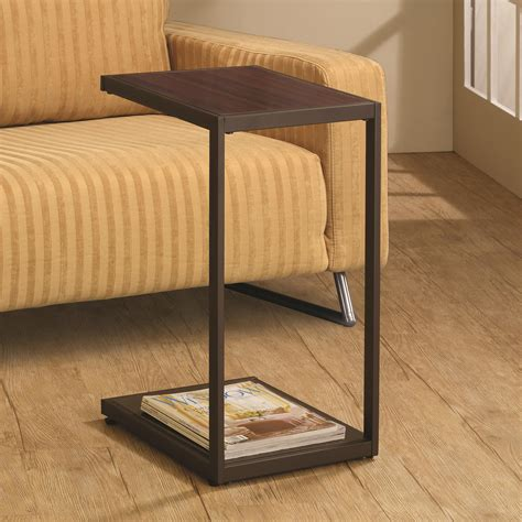 coaster laptop stand with casters value city furniture coaster furniture accents snack table in brown 901007