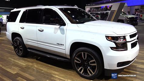 2020 Chevrolet Suburban Detroit Auto Show by 2018 Chevrolet Tahoe Premier Exterior And Interior