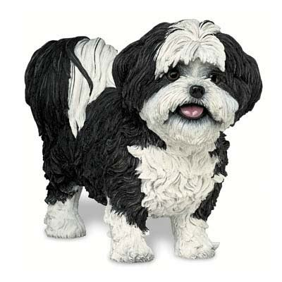 shih tzu figurine shih tzu quot shorthaired quot figurine the danbury mint