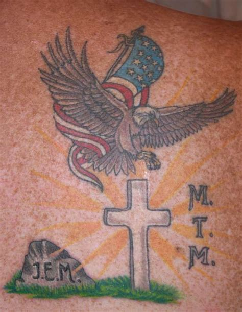 tattoo god family country tribute tattoos dad tribute added to god family