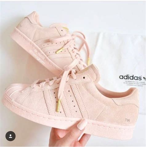 shoes pastel pink adidas superstars low top sneakers pink sneakers adidas shoes wheretoget