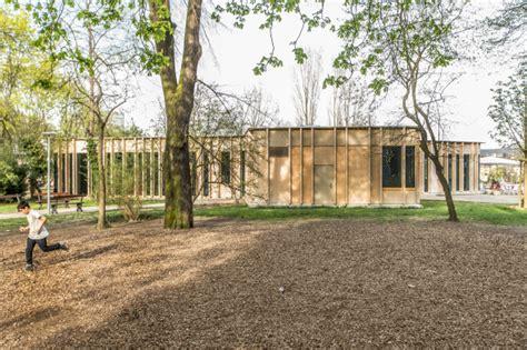pavillon im park neubau pavillon st johanns park schweizer baudokumentation