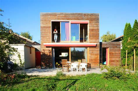 Maison Cube Bois Prix 3232 by Maison Contemporaine Architecte De Maisons