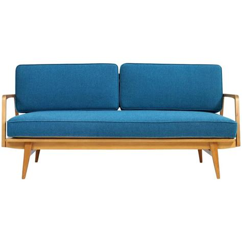 mid century daybed sofa rare and beautiful 1950s beech wood extendable daybed sofa