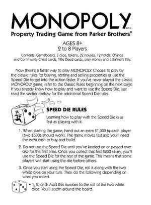 monopoly buying houses rules calam 233 o monopoly speed die game
