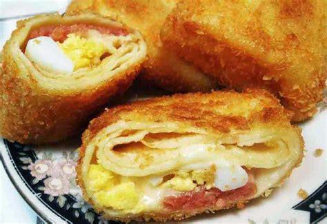 resep risoles isi sosis mayones