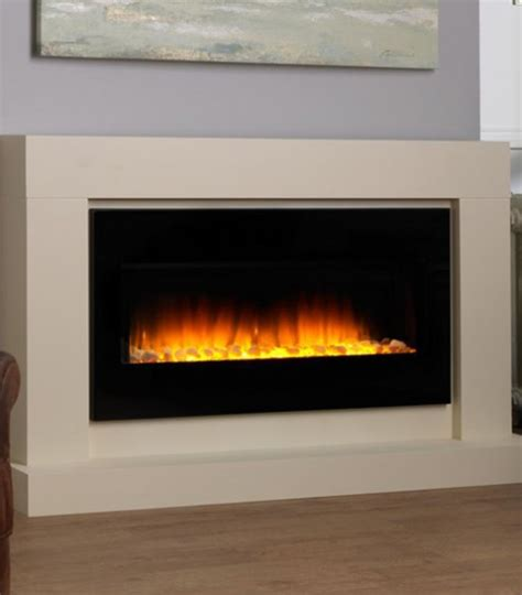 Fireplace Suite Electric by Flamerite Junai Designer Electric Fires
