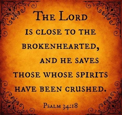 The Lord Is Close To The Brokenhearted Greetings And