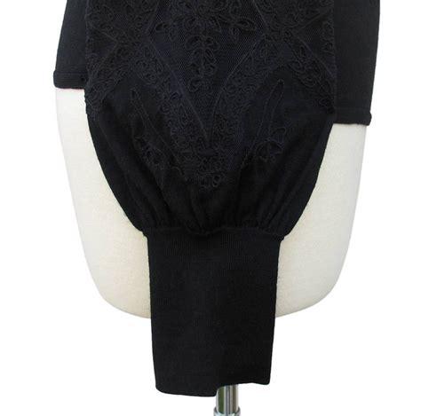 Jny Co Sweater Banana Sweet Opika elie tahari black gabriella merino wool