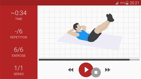 best at home workout app abs workout a6w android apps on play