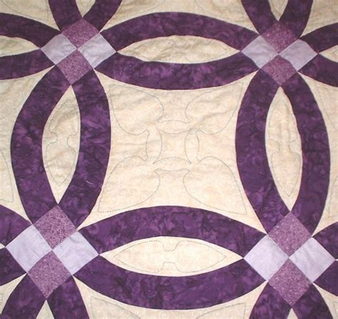 wedding ring quilt templates wedding ring quilt pattern