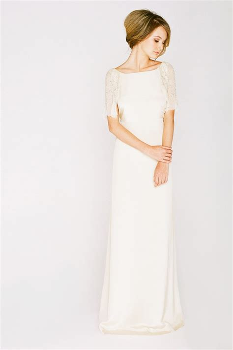 boat neck dress wedding guest long sleeve boat neck wedding dress