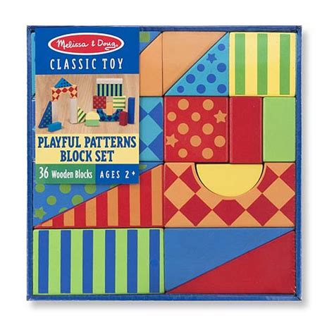 Doug Pattern Blocks And Boards Classic Berkualitas playful patterns wooden blocks set new and doug