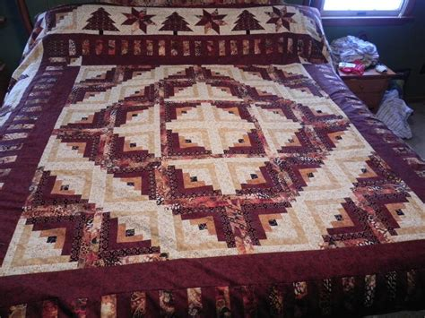 Size Log Cabin Quilt Pattern by You To See Log Cabin Quilt King Size On Craftsy