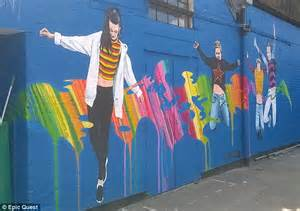 Under The Sea Wall Mural southend essex school forced to paint over mural because
