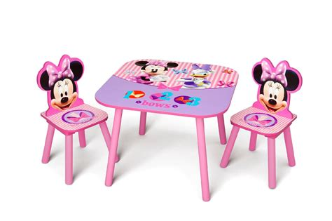 minnie mouse outdoor table and chairs delta minnie mouse child s table and chair set