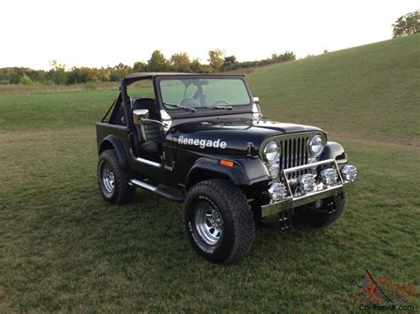 chevy jeep models 1983 jeep cj7 with chevy 350 quot no reserve will sell quot